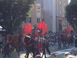 """Hyakumangoku Matsuri"" é a maior festa de Kanazawa"